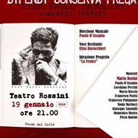 Pier Paolo Pasolini Concerto Tributo