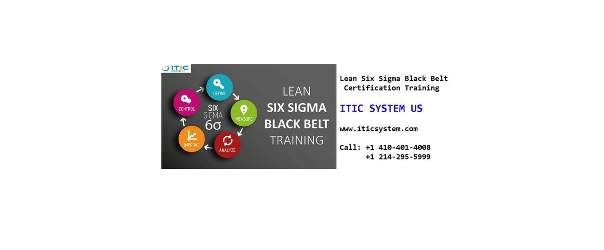 Lean Six Sigma Black Belt (LSSBB) 4 Days Workshop in Birmingham AL
