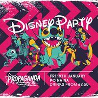 Disney Party Propaganda Bath