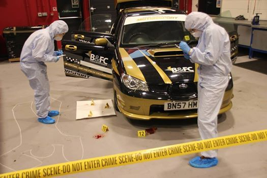 Forensic Car Crash Evening