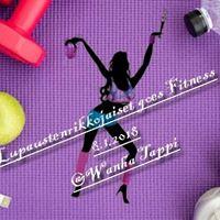 Lupaustenrikkojaiset goes Fitness