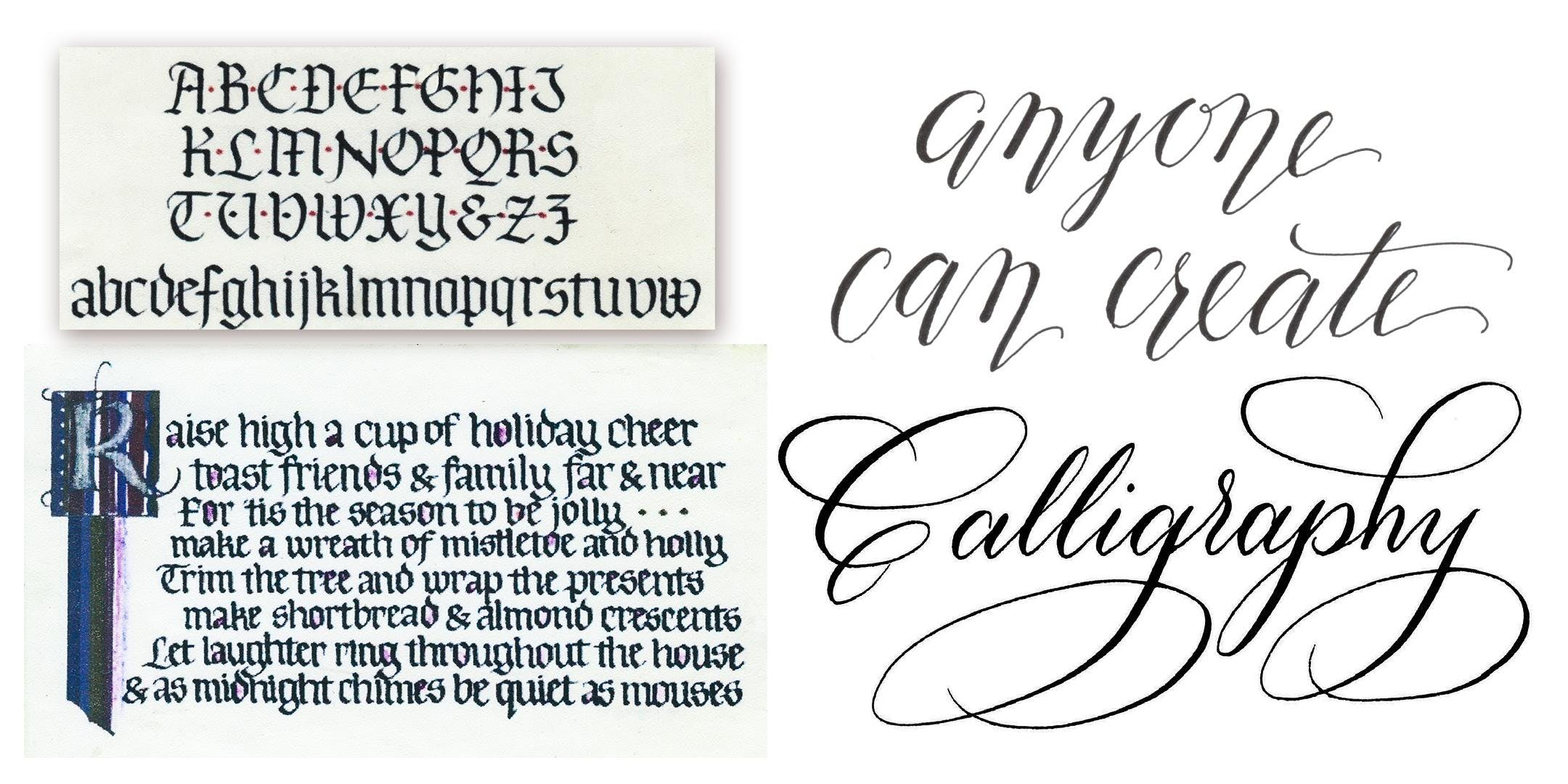 Calligraphy Sampler • May 26 - BLACKLETTER at Swinton\'s Art Supply ...