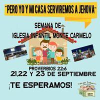 Semana de Iglesia Infantil Monte Carmelo