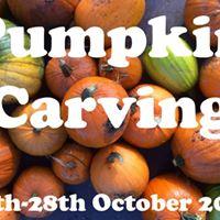 Pumpkin Carving at Roots