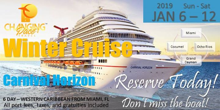 Changing Pace Travel Winter Cruise 2019