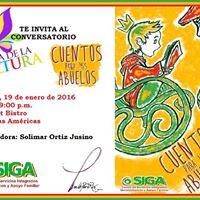 Conversatorio cuentos para mis abuelos at le petit bistro for Rio grande arts and crafts festival 2016