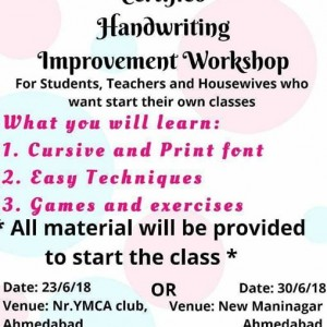 Handwriting Improvement Workshop