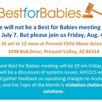 Best for Babies Meeting - Changes to your childs Health Care Plan