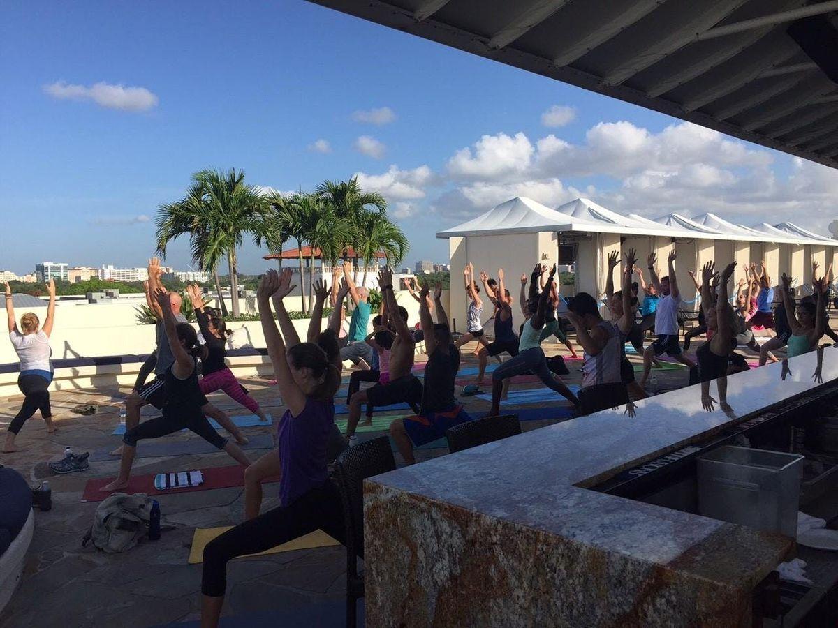 Free Community Yoga In Coconut Grove