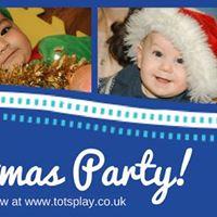 Tots Play Christmas Party - Social Tots