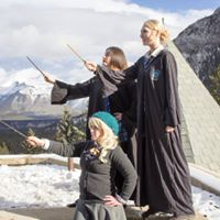 Harry Potter Photo Shoot In Banff