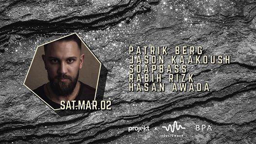 Projekt X Lucidwave present Patrik Berg