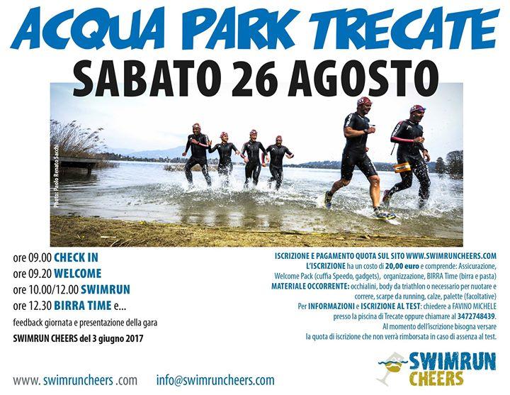 Swimrun Cheers Test at aqua park trecate dab45aa9ac013