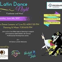Prospanica Bakersfield Latin Dance Night-Fundraiser and Mixer