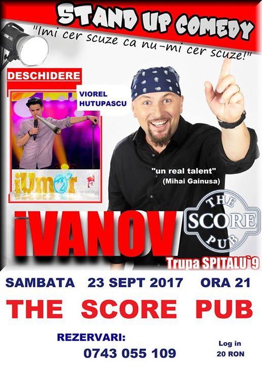 Stand Up Comedy cu IVanov De La spitalu 9 i Viorel Huupau de la iUmor
