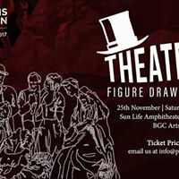 Theatrical Drawing Session