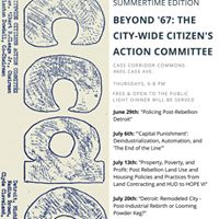 Beyond 67 The City-Wide Citizens Action Committee