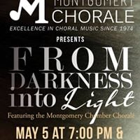 Montgomery Chorale presents &quotFrom Darkness Into Light&quot