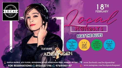 Monday Beat the Blues with Dj Adeekeen