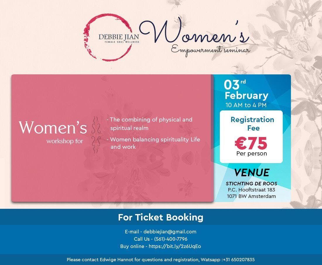 Spiritual Workshop for Women Sunday 3 Feb