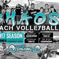 Chaos Beach Volleyball 2017 Summer Championships