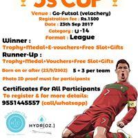 5S - Cup  Under 14 Tournament