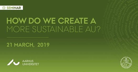 Seminar How do we create a more sustainable AU