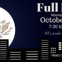 October Full Moon Yoga