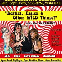 3MKi &quotBeatles Eagles &amp Other WILD Things&quot Dinner-Show-Dancing
