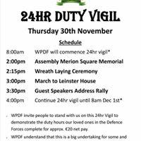 Protest March &amp 24 Hour Vigil