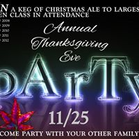 Annual Thanksgiving Eve Party