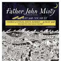 Father John Misty Live in Dublin IE at Vicar St [3 Nights]