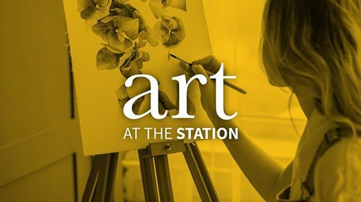 Art at the Station Blooming in Purple (Ages 13)