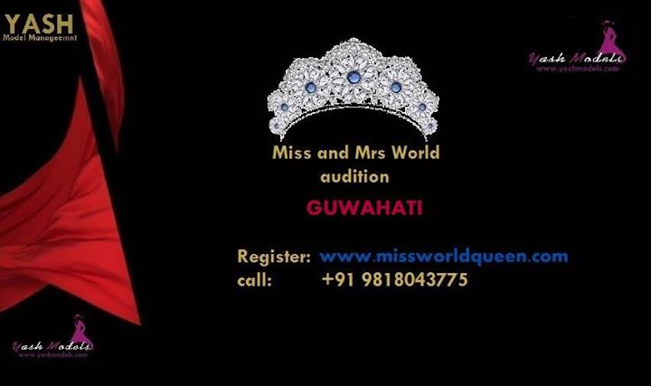 Miss and Mrs Guwahati Assam India World Queen and Mr India