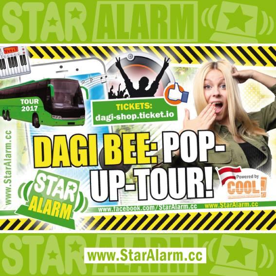 Dagi Bee Pop Up Tour At Scn Vienna