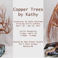 Copper Trees by Kathy