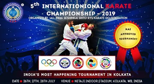 5th International Karate Championship 2019 at All India