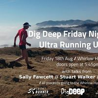 Dig Deep Friday Night Talks Ultra Running Unwind