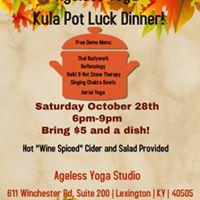 Ageless Yoga Kula Pot Luck Dinner