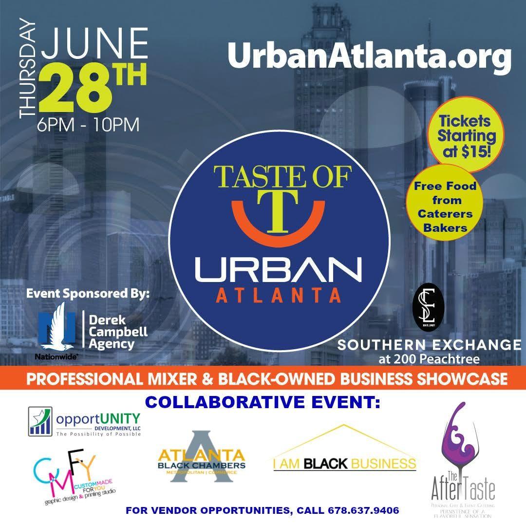 Taste of Urban Atlanta June Event