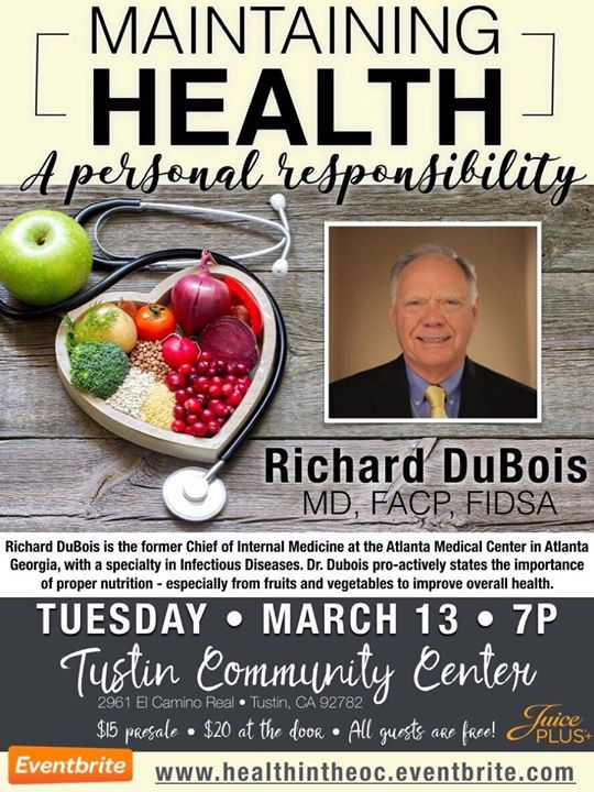 Maintaining Health A Personal Responsibility