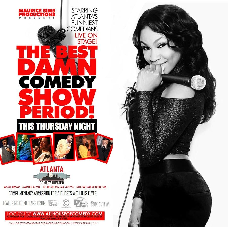 The Best Damn Comedy Show at Suite Lounge