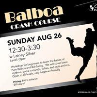 Balboa Crash Course with Lainey Silver