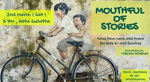 Mouthful of StoriesStory-time for kidsfamilyBy Vikram Sridhar
