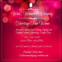 Wine Women and Shopping