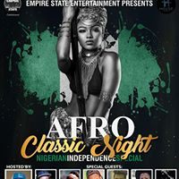 AFRO CLASSIC NIGHT (Nigerian Independence Special)
