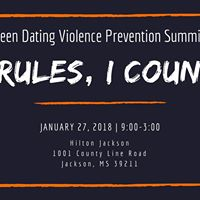 Teen Dating Violence Prevention Summit New Rules I Count Em