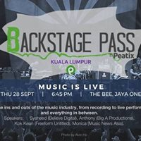 Backstage Pass KL Music Is Live