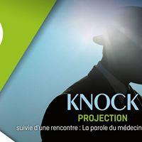 Projection de &quotKnock&quot et rencontre ImagSant au Sauvenire