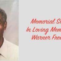 Memorial Service for Warner Freeman